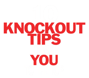 10 knockout tip for success - mental boxing
