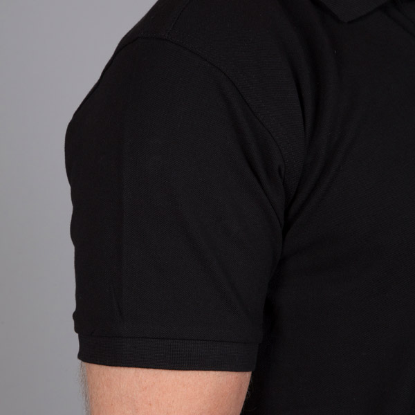 black polo shirt mens