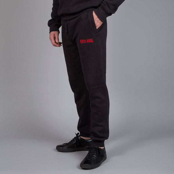 mens black tracksuit bottoms
