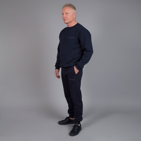 navy blue tracksuit bottoms